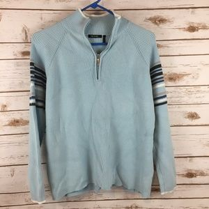 Daisy Fuentes 1/4 Zip Pullover Sweater